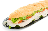 3 foot heroes sandwiches hoagies
