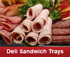 deli sandwich trays