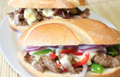 cheesesteaks sandwiches