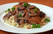 chicken marsala dinner